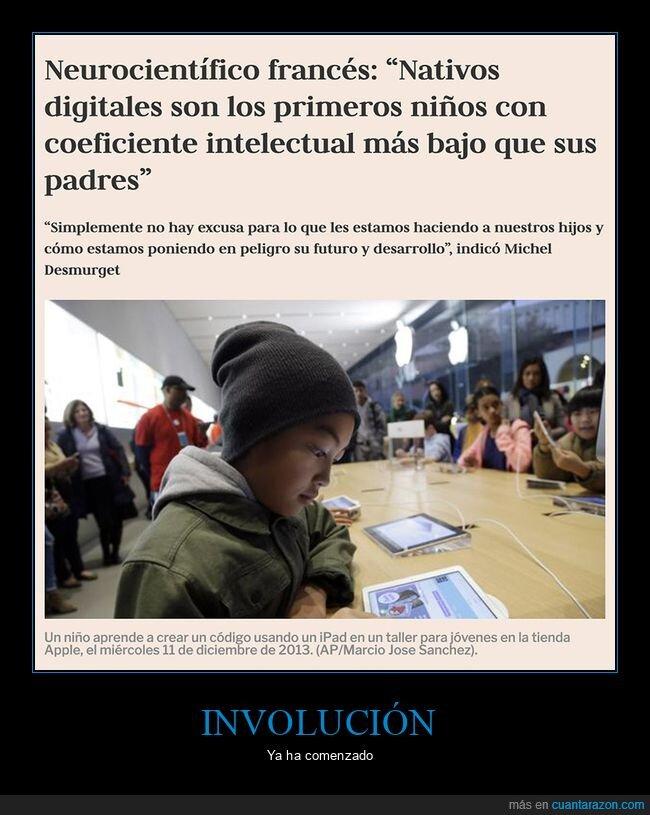coeficiente intelectual,nativos digitales