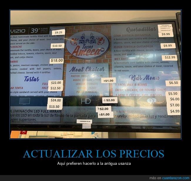 pantalla,precios,wtf