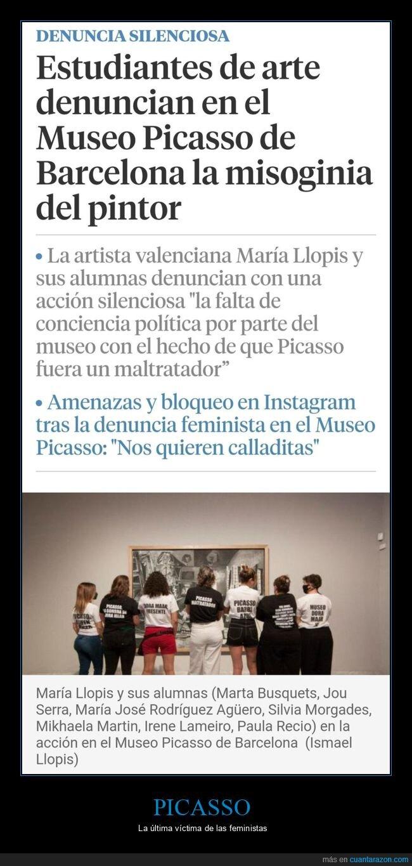 feministas,museo,picasso