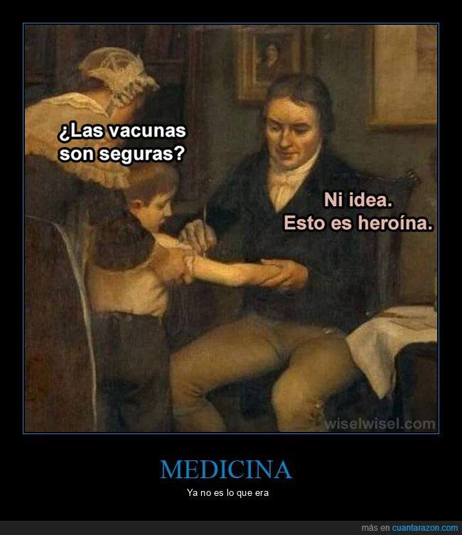 heroína,seguras,vacunas