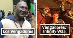 Enlace a Fotos entrañables de Marvel entre bastidores, que muestran la magia especial de sus películas