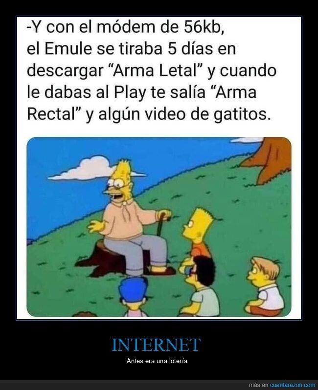 antes,emule,internet
