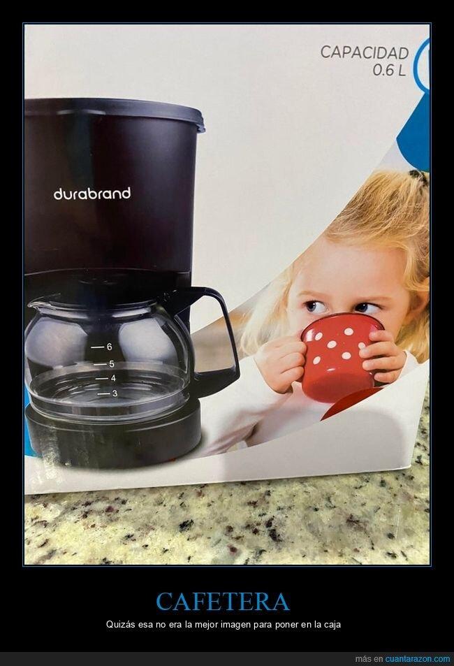 café,cafetera,niña