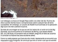 Enlace a El impactante hallazgo de un usuario de Google Maps en el estrecho de Bering