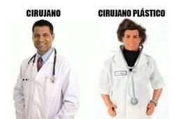 Enlace a Dos tipos de cirujano