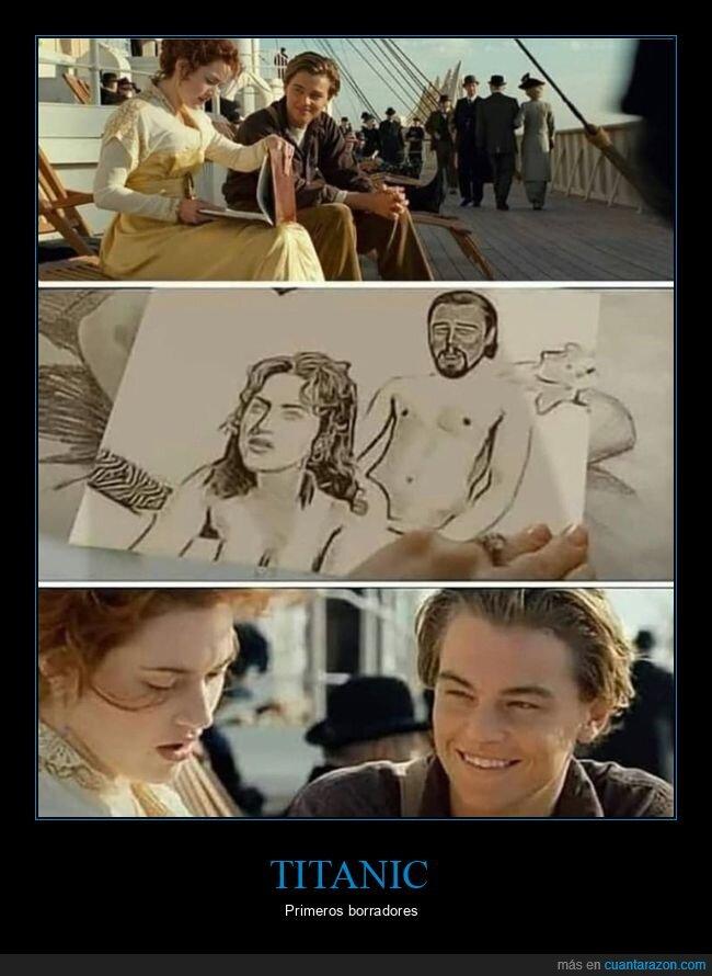 dibujo,titanic