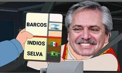 Enlace a El presidente de Argentina dijo que los mexicanos vienen de los indios, los brasileños de la selva y los argentinos de los barcos