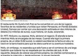 Enlace a Un pub de Florida con una decoración de dos millones de dólares en billetes causa furor entre residentes y turistas