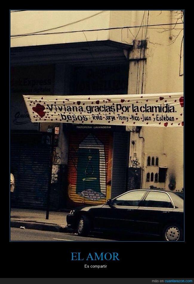 clamidia,pancarta