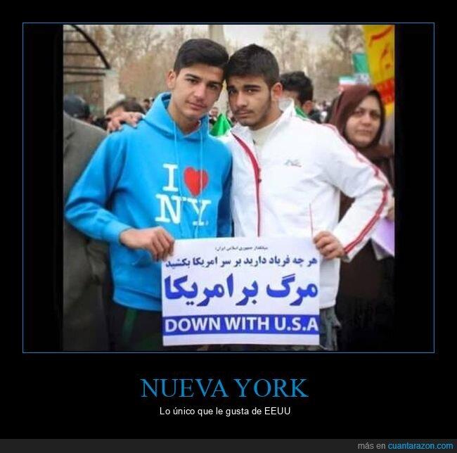 árabes,carteles,eeuu,fails,i love ny,sudadera