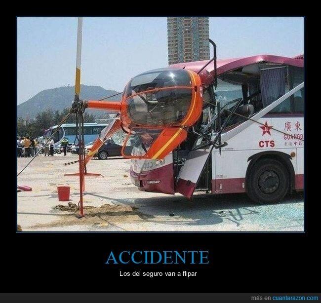 accidente,autobús,helicóptero