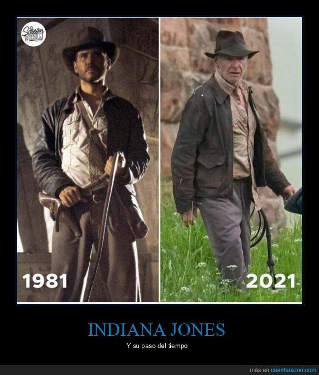 ahora,antes,harrison ford,indiana jones