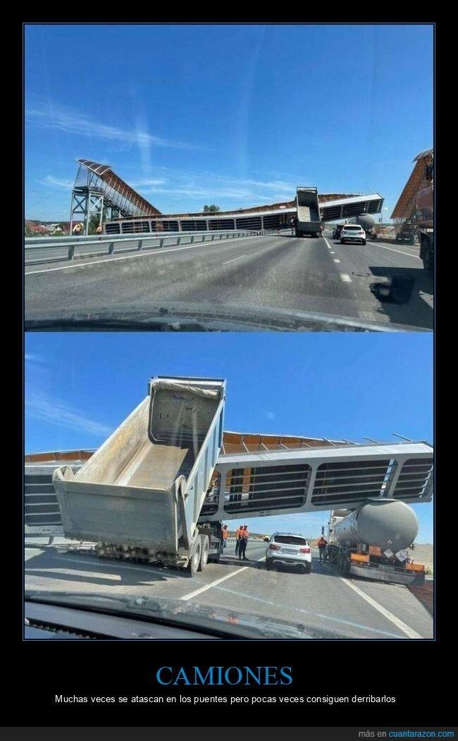 camión,fails,puente