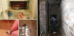 Enlace a Personas que encontraron sorpresas escondidas dentro de sus nuevas casas