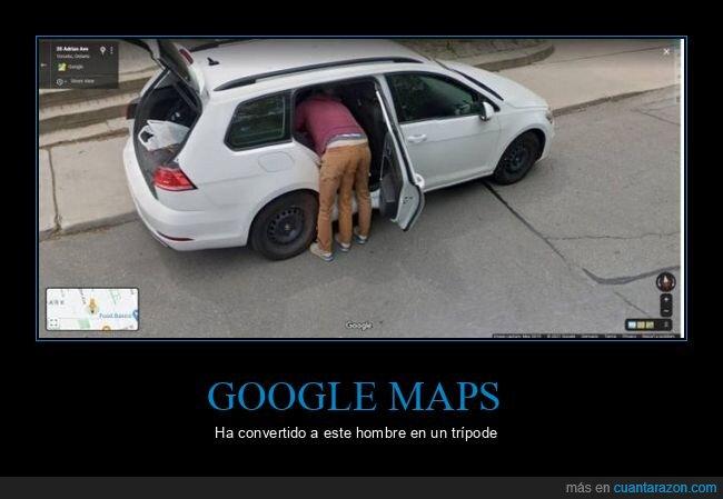 google maps,piernas,wtf
