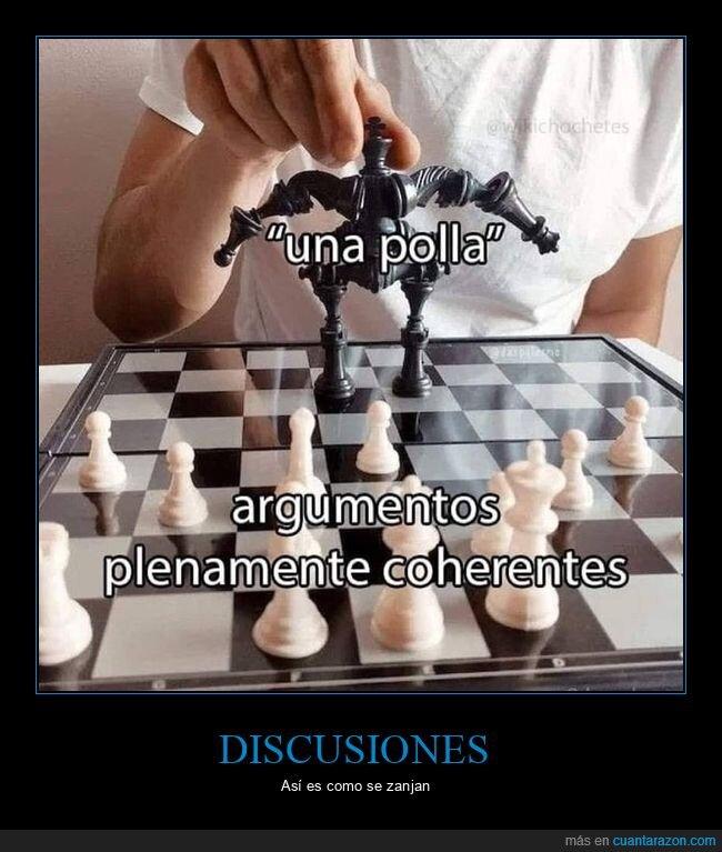 ajedrez,argumentos,coherentes