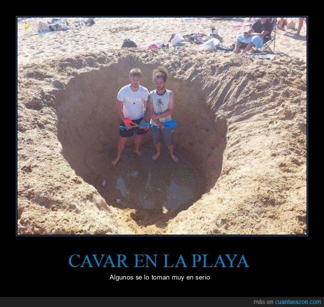 agujero,playa