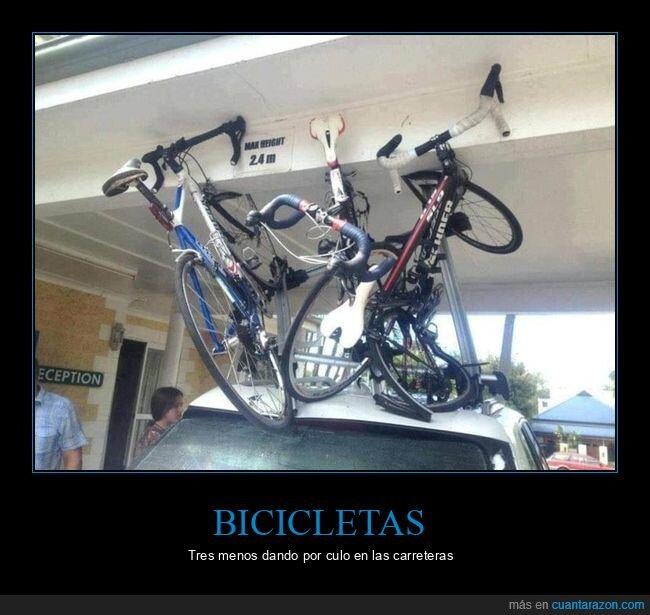 bicicleta,coches,fails,puente