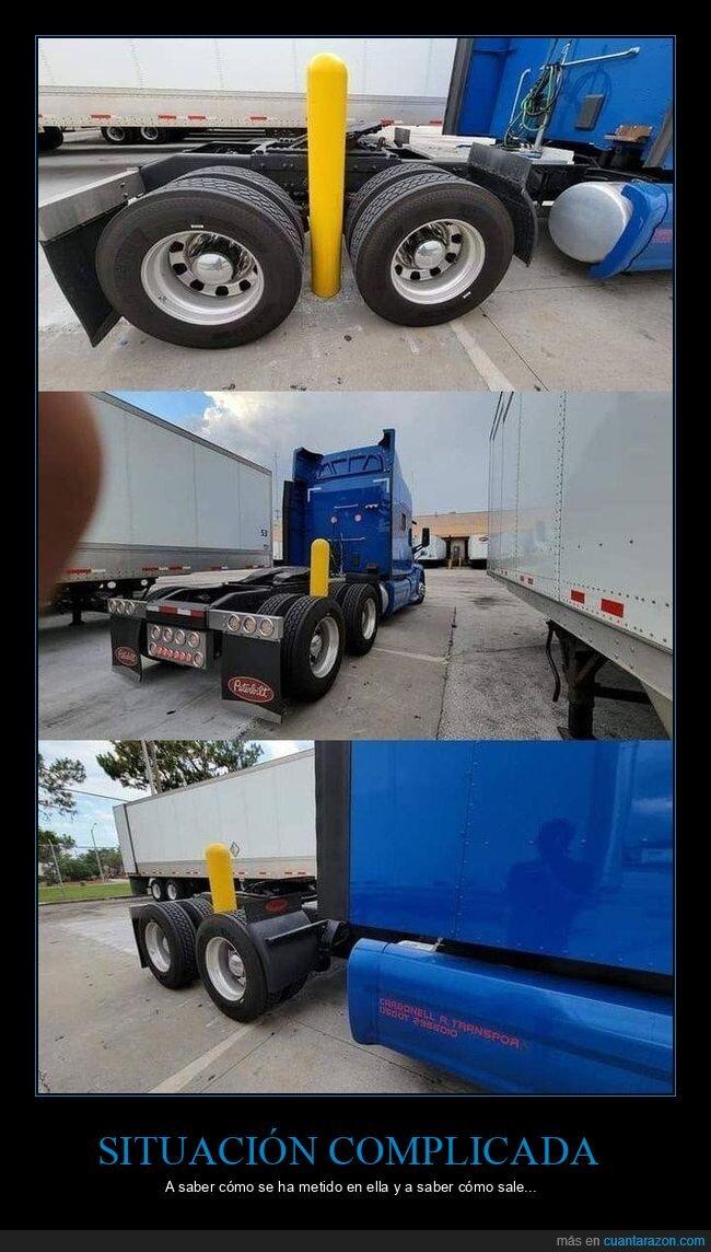 camión,fails