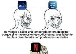 Enlace a Disney + y Prime Video VS Netflix