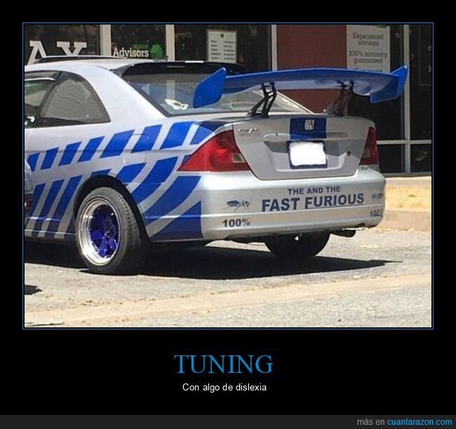 coche,fails,fast and furious,tuning
