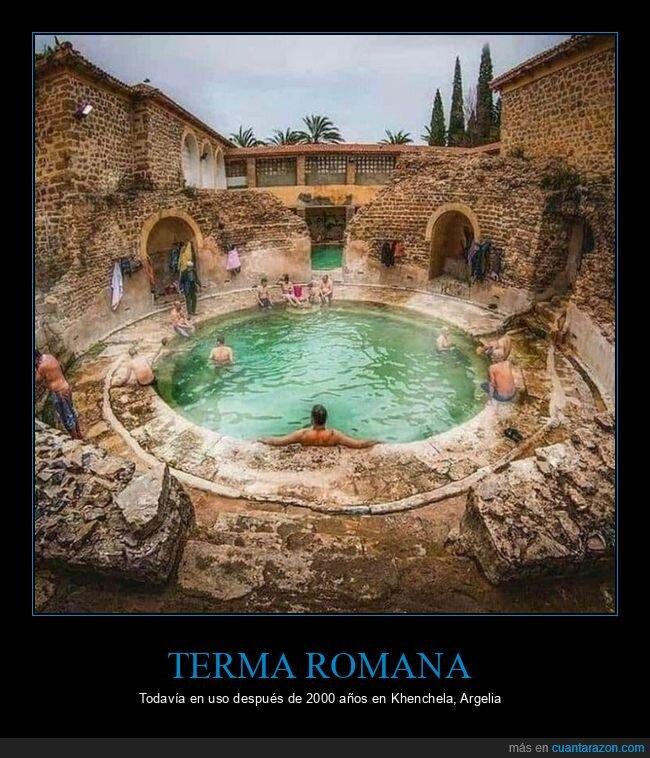 2000 años,romana,terma