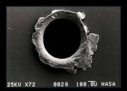 Enlace a Un agujero en la Estación Espacial Internacional