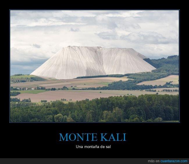 montaña,monte kali,sal