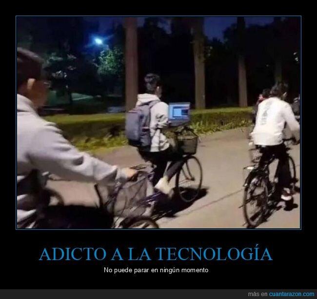 bicicleta,ordenador,wtf