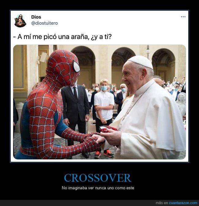 papa,spiderman