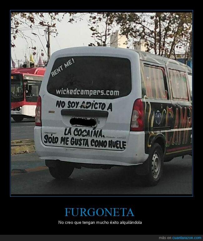 coca,furgoneta,gustar,olor