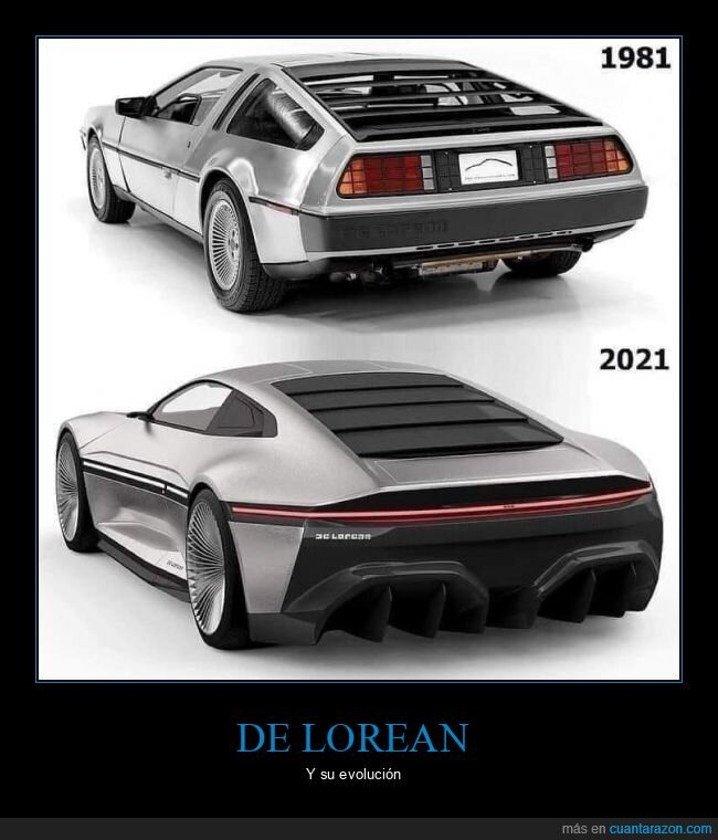 coche,delorean,evolución