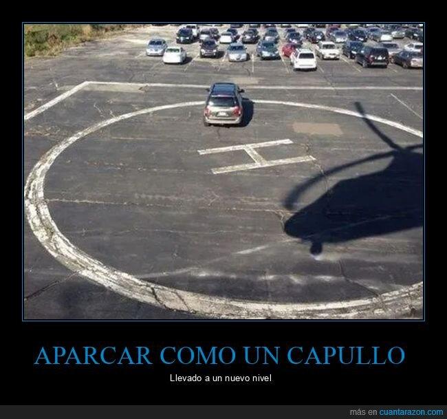 aparcamiento,coches,fails,helipuerto