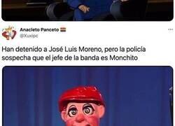 Enlace a Detienen a José Luis Moreno e internet se llena de memes