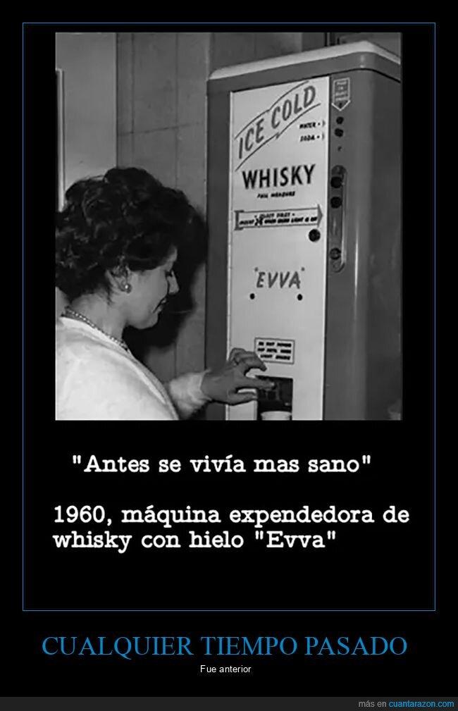 antes,máquina,retro,sani,whisky