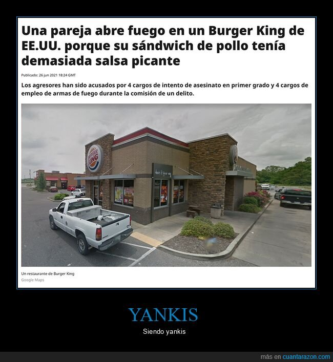 burger king,pareja,tiroteo,wtf