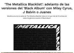 Enlace a Lo nuevo de Metallica