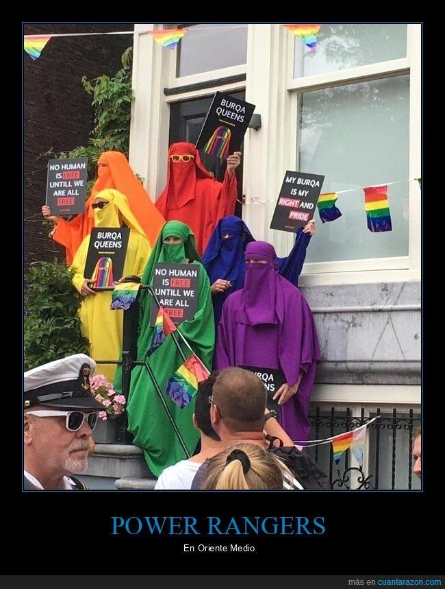 burka,orgullo gay,wtf
