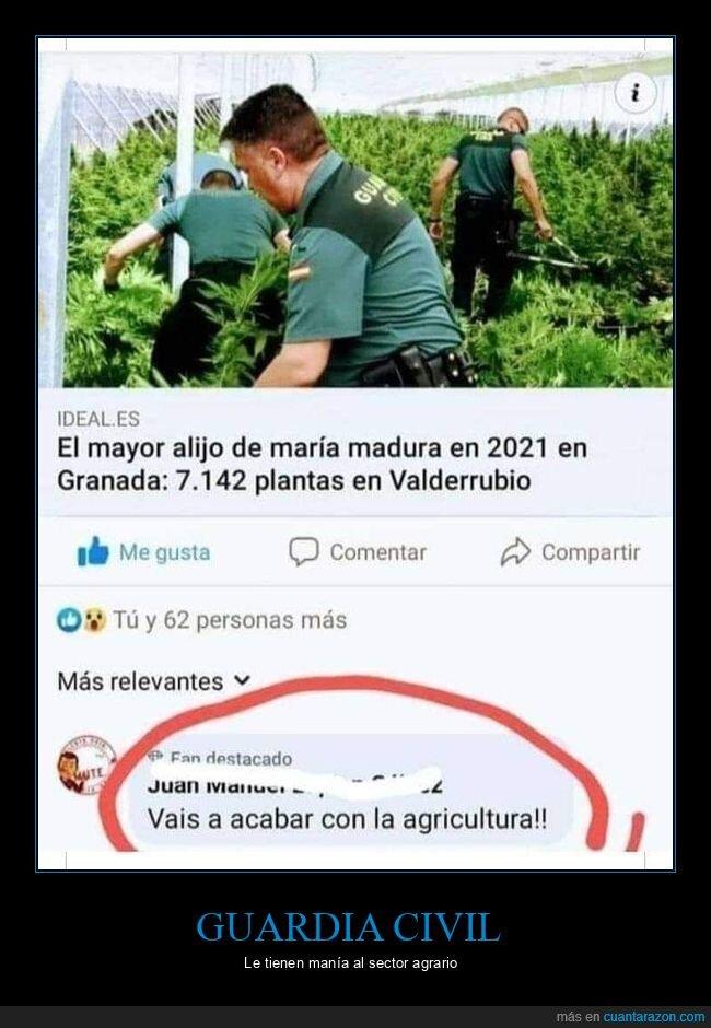 agricultura,comentarios,guardia civil