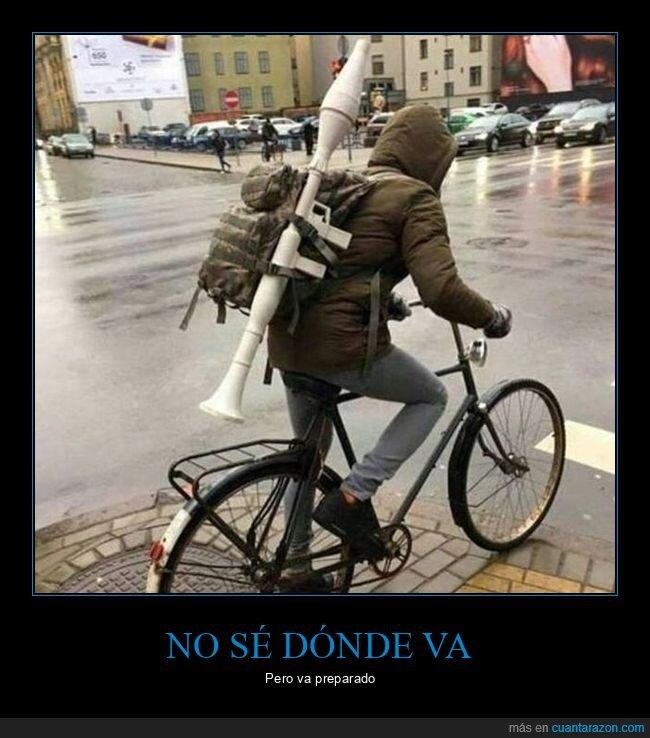 bazooka,bicicleta,wtf