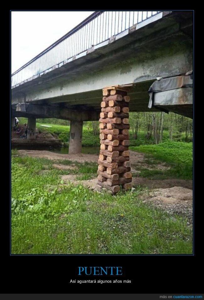 apaño,chapuza,puente