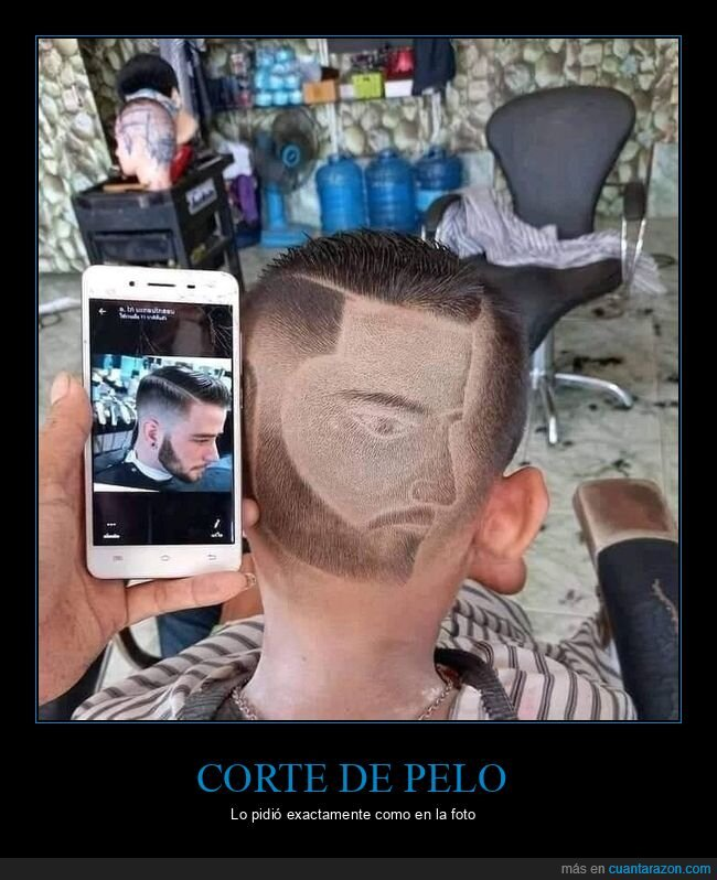 corte de pelo,foto