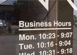 Enlace a El horario más raro del mundo