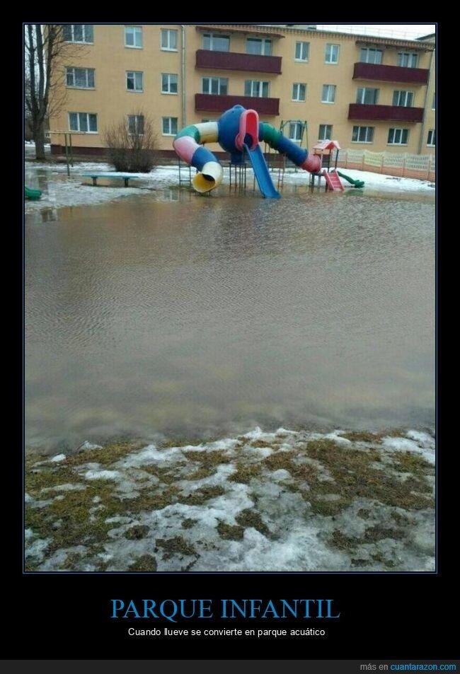 inundación,parque