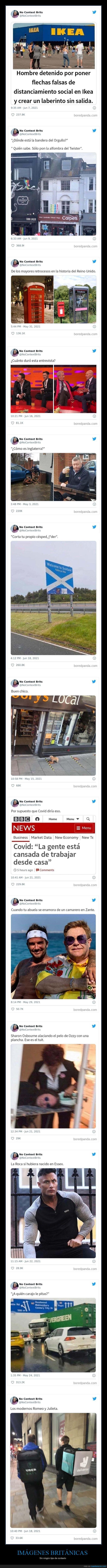 imágenes británicas,sin contexto
