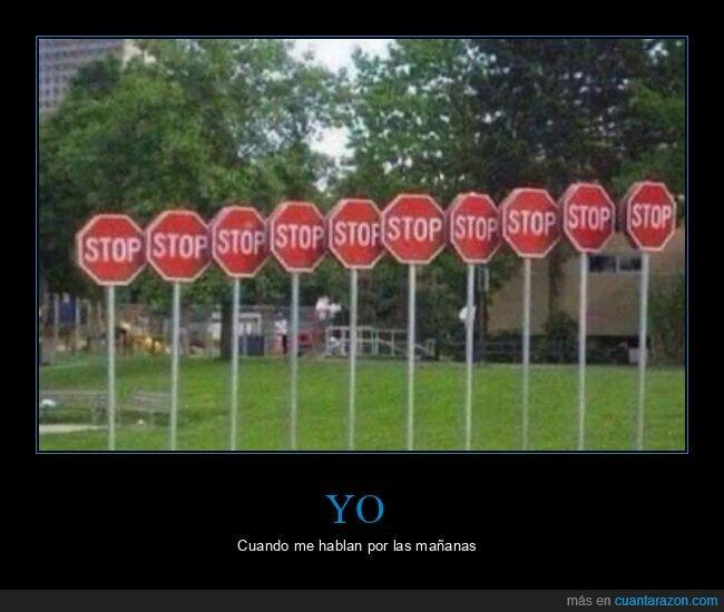 señales,stop