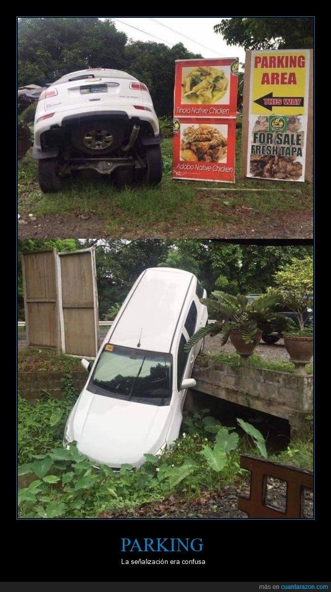 coche,fails,parking