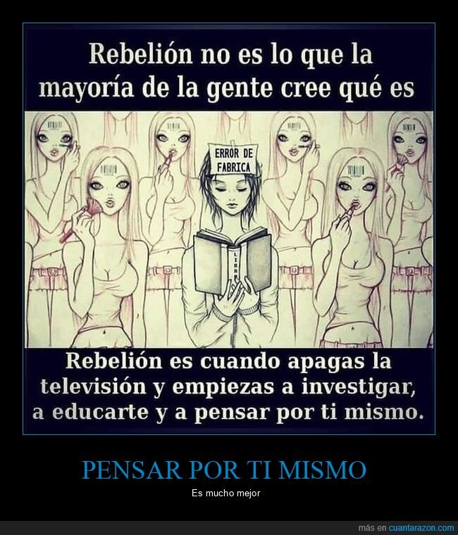 apagar,educarse,rebelión,televisión