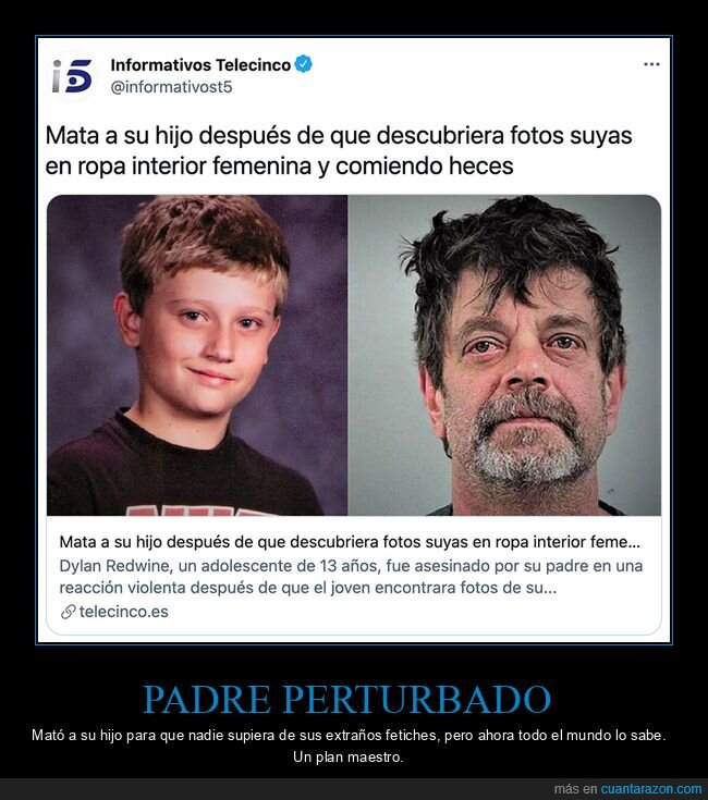 fotos,hijo,matar,padre,wtf