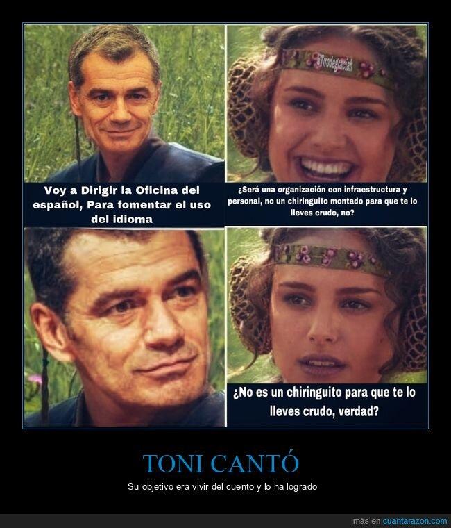 chiringuito,español,políticos,toni cantó
